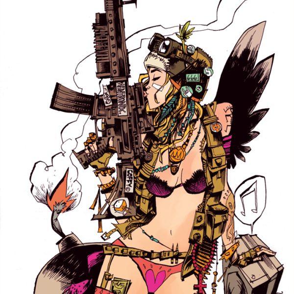 Tank Girl Print