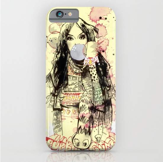 Bubble Gum Gangsters iPhone Case