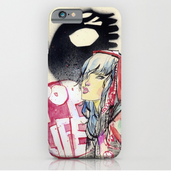 Pop Life iPhone Case