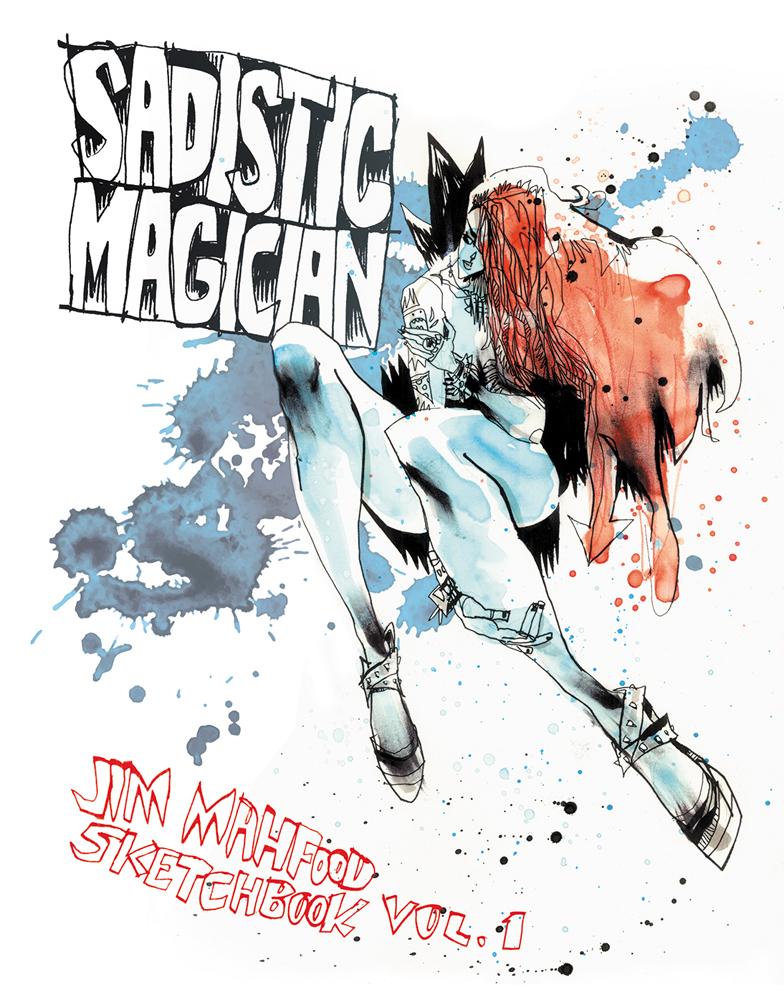 SADISTIC MAGICIAN ART BOOK – US SHIPPING