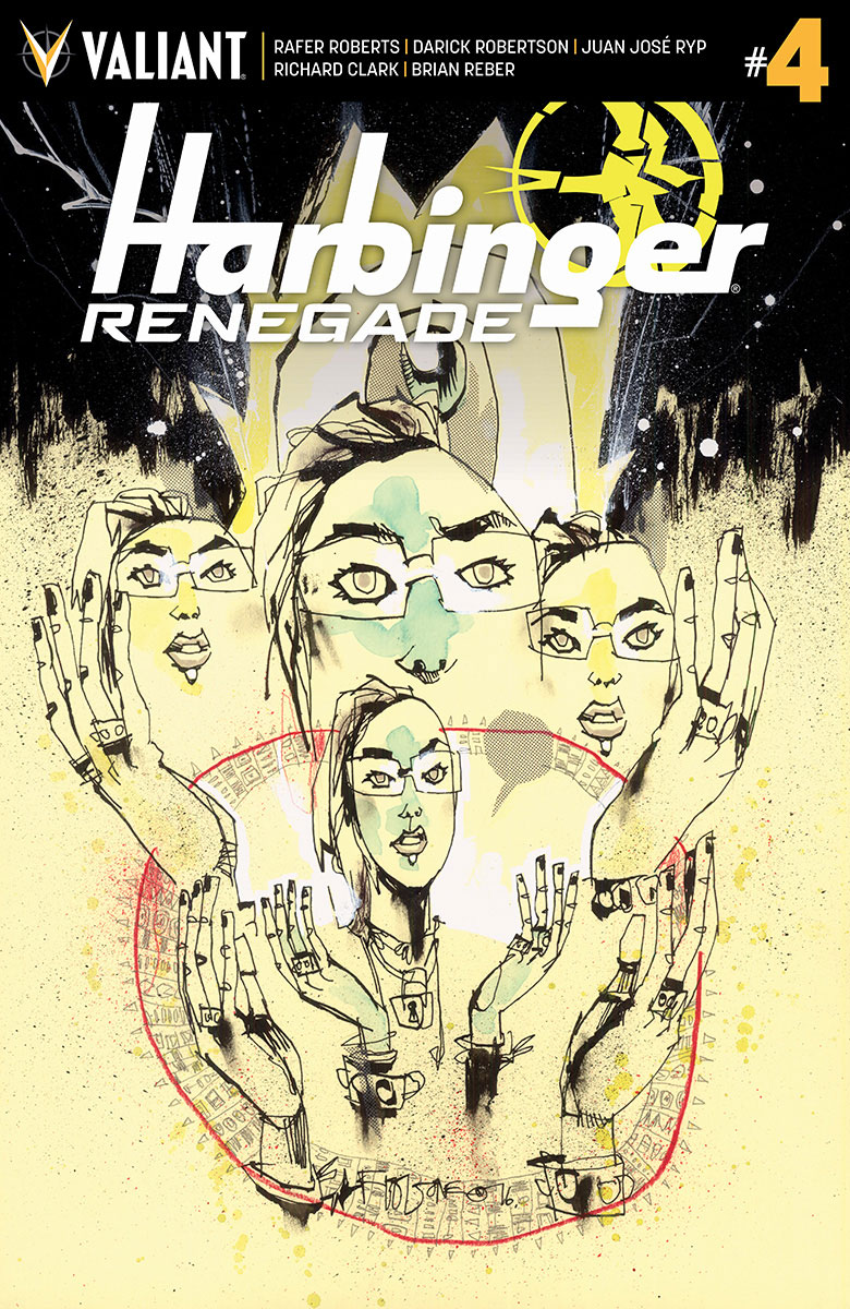 HARBINGER RENEGADE #4