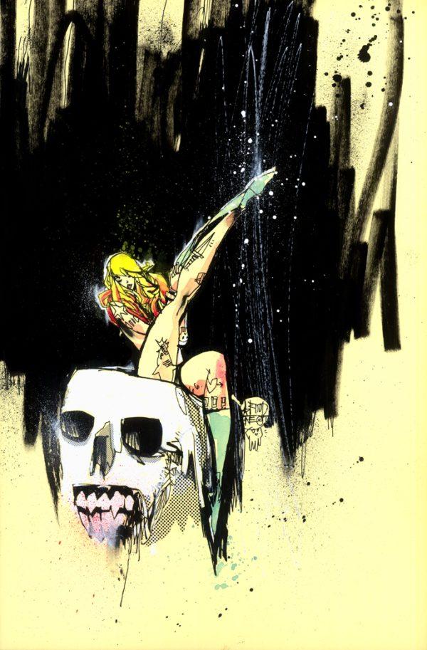 GRRL SCOUTS MAGIC SOCKS 1 2nd PRINT COVER