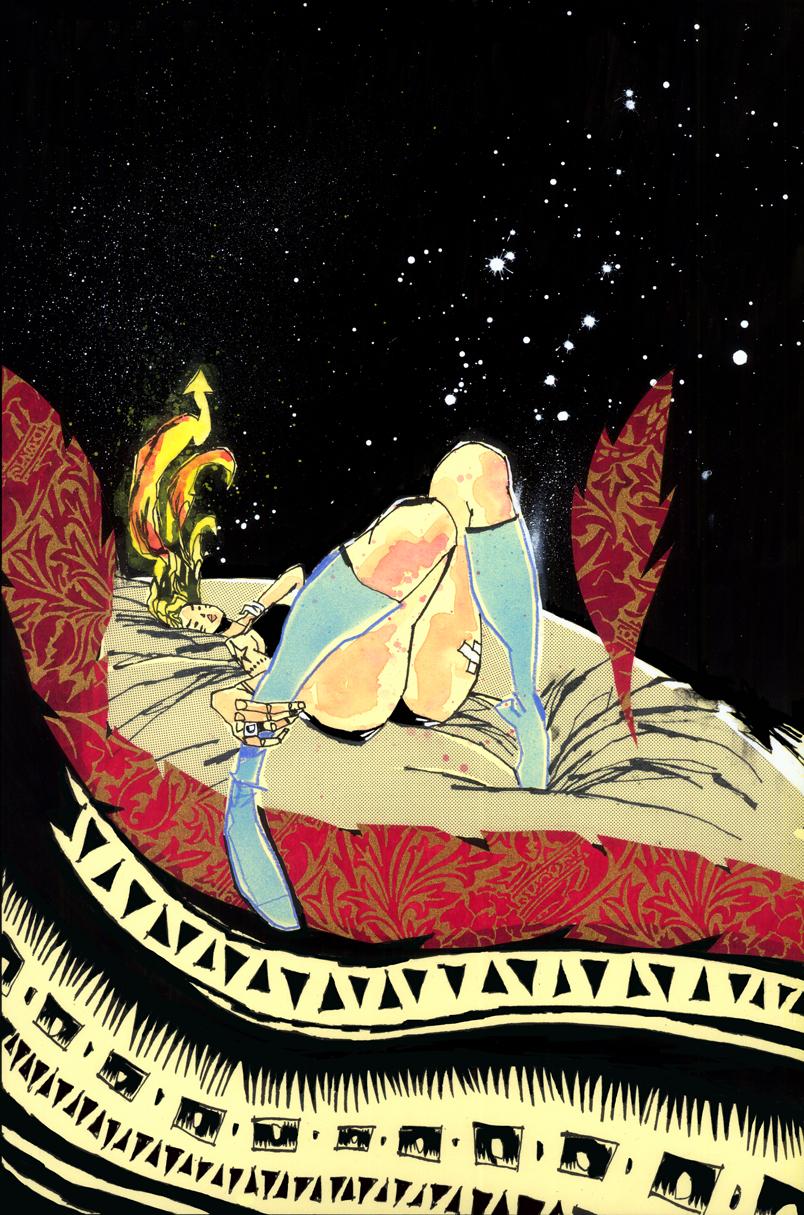 GRRL SCOUTS: MAGIC SOCKS #6 COVER