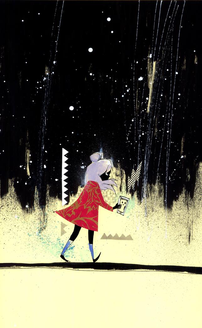GRRL SCOUTS: MAGIC SOCKS #6 VARIANT COVER