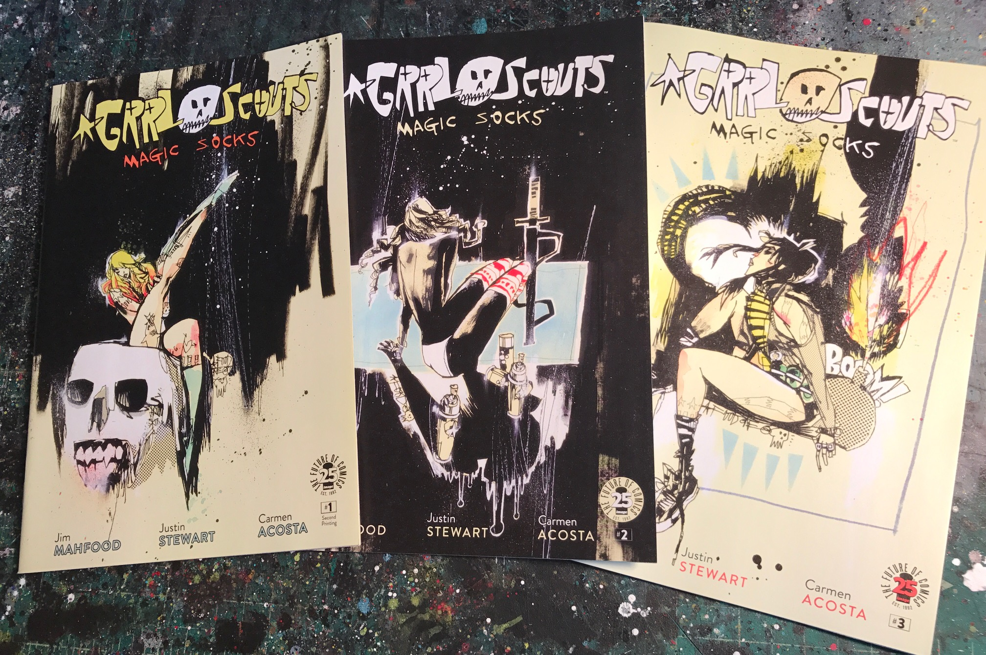 GRRL SCOUTS 3-PACK