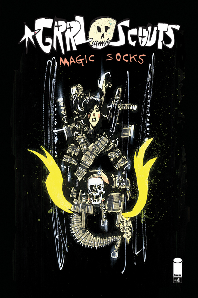 GRRL SCOUTS: MAGIC SOCKS #4