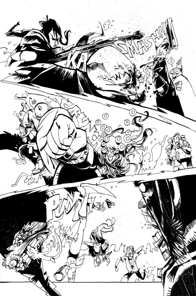 GRRL SCOUTS: MAGIC SOCKS #1 PAGE 9