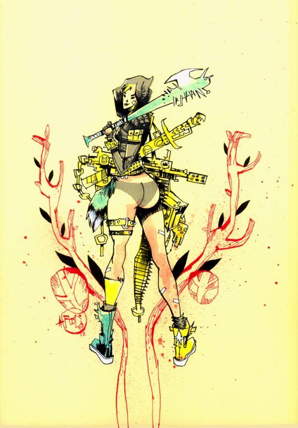 Tank Girl All Stars Cover 2