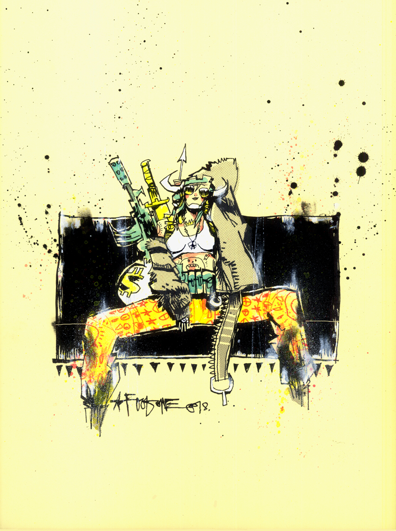 TANK GIRL ALL STARS VARIANT COVER 3