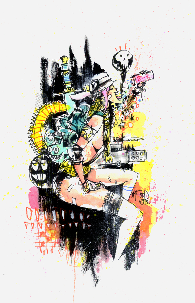 TANK GIRL ALL STARS COVER