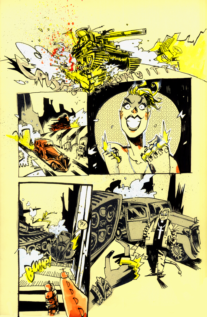 Preview and Covers from Tank Girl: Two Girls One Tank #1