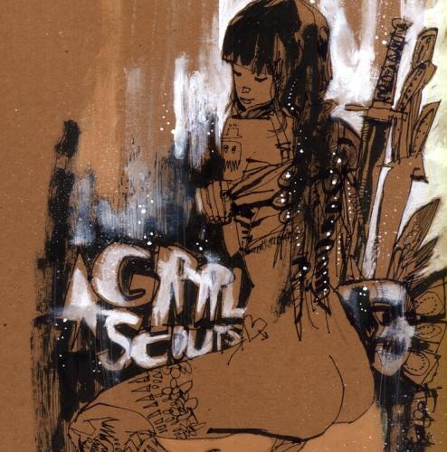 Grrl Scouts Original Art